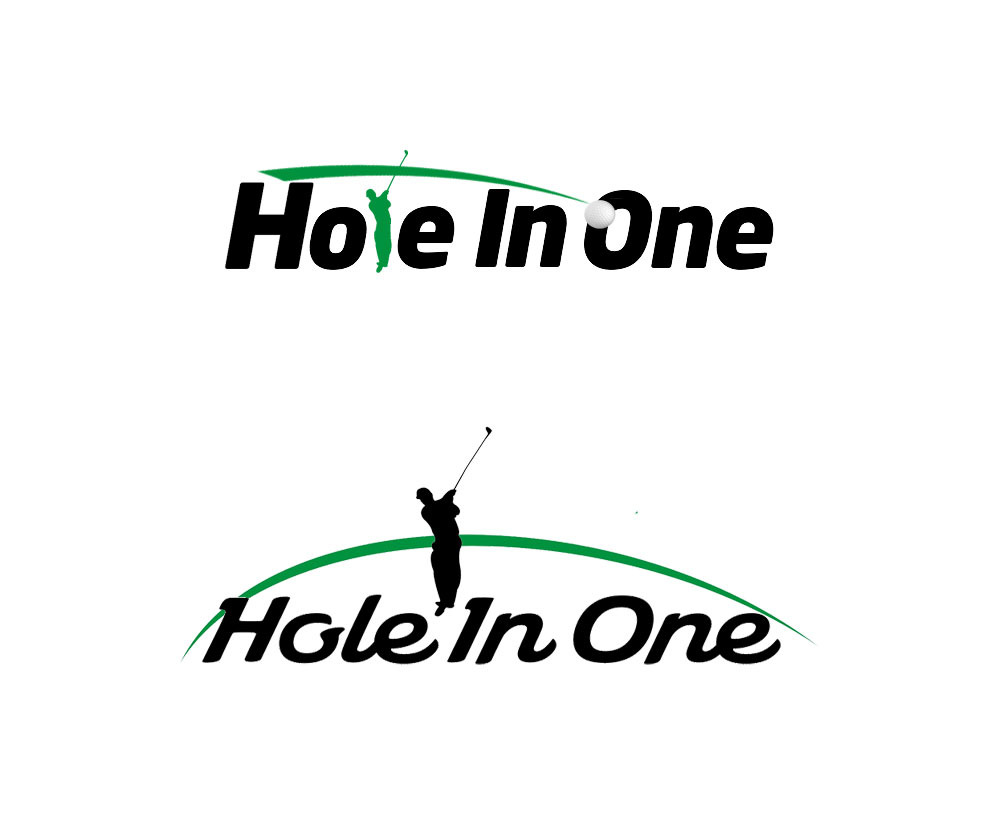 logo设计案例 - HOLE IN ONE GOLF